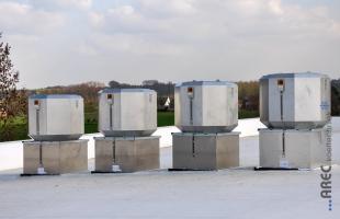 Algemene ventilatie bij Vanderhaegen Potatoes.